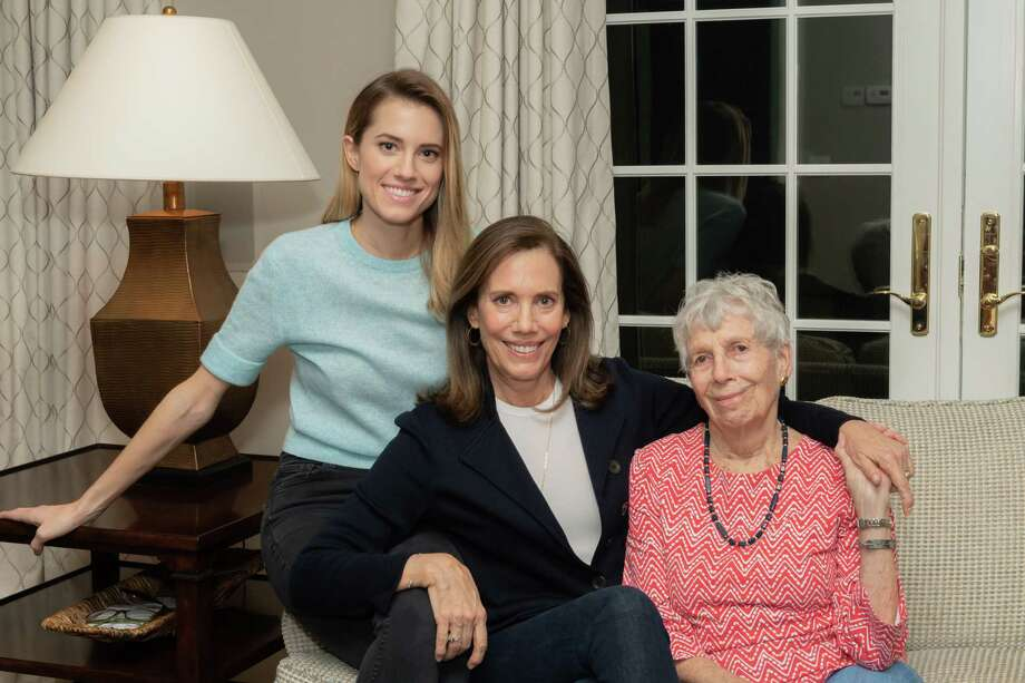 A televised conversation among three generations of New Canaanites, Allison Williams, Jane Williams, and Pat Stoddard, will be the highlight of the Staying Put Virtual Luncheon Sept. 22. Photo: Staying Put In New Canaan / Contributed Photo