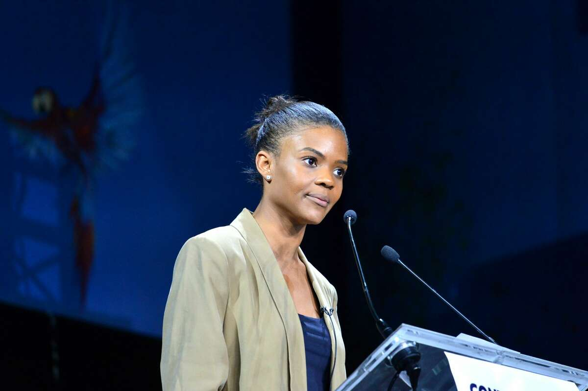 Trump supporter Candace Owens does land a speaking position at the Republican National Convetion (Photo by Daniel Pier/NurPhoto via Getty Images)