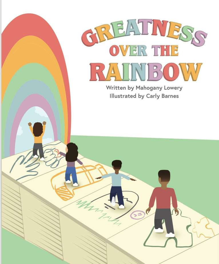 """New Haven resident and student Mahogany Lowery has written a children's book, """"Greatness Over the Rainbow."""" Photo: Mahogany Lowery / Contributed Photo"""