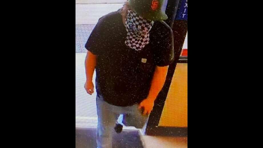 The Santa Cruz Sheriff's Office is seeking this suspect, who they allege broke into a firefighter's vehicle and stole his wallet. Photo: Santa Cruz Sheriff's Office