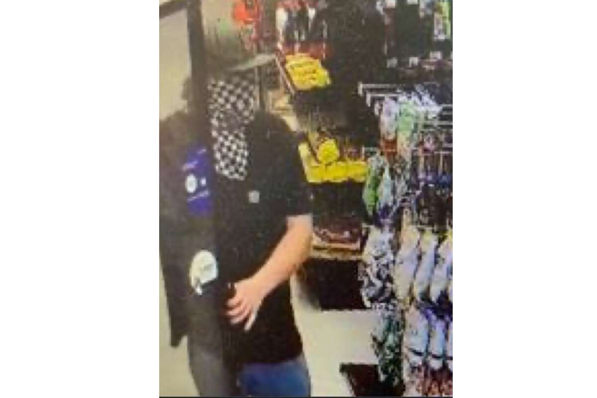 The Santa Cruz Sheriff's Office is seeking this suspect, who they allege broke into a firefighter's vehicle and stole his wallet.