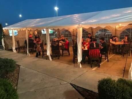 Avalanche Food Group is expanding outdoor seating at two of its Houston area Twin Peaks restaurants by setting up open air tents in the parking lots.