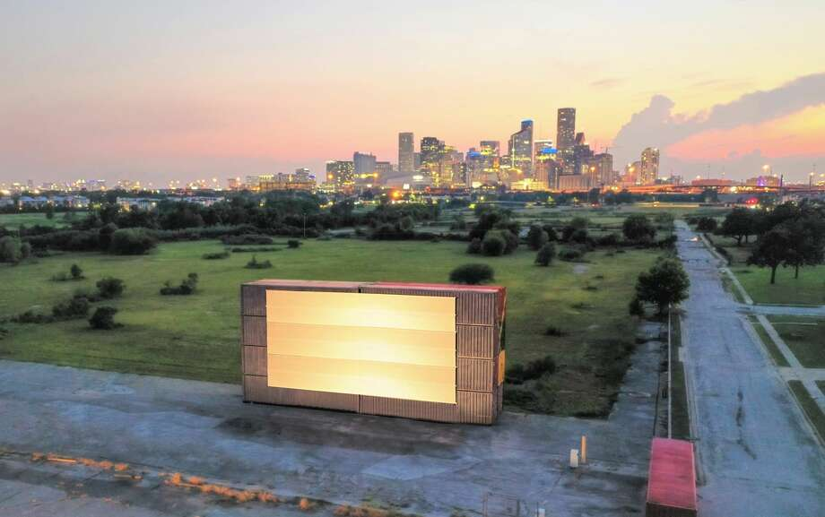 Houston-based real estate investment and development firm Midway announced on Monday that it has teamed up with another local company, Moonstruck, to launch Moonstruck Drive-In Cinema. Photo: Shannon O'Hara / copyright 2014 Shannon O'Hara