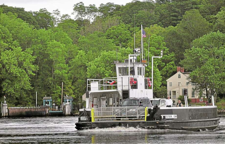The Chester-Hadlyme Ferry is the second oldest ferry in continuous use in Connecticut, owned and operated by the state Department of Transportation since 1917. The ferry transports cars, bicycles and passengers across the Connecticut River from Hadlyme to Chester. Photo: Catherine Avalone /Middletown Press / TheMiddletownPress