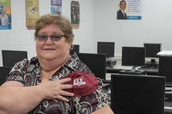 Lee High computer coding teacher Melody Dumas. 8/25/2020. Tim Fischer/Reporter-Telegram