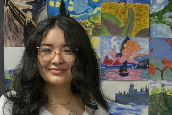 Midland High French teacher Carla Perez. 8/25/2020. Tim Fischer/Reporter-Telegram