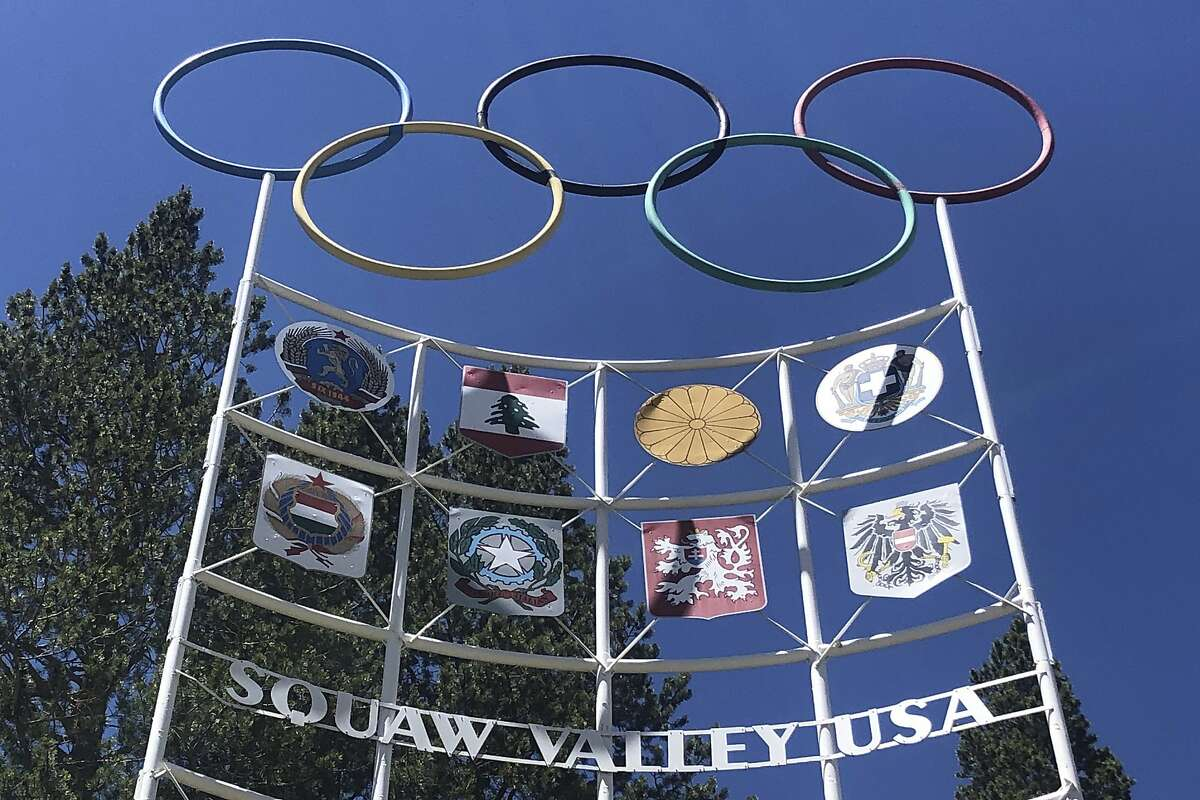 """The entrance to the Squaw Valley Ski Resort. Officials announced Tuesday, Aug. 25 California's popular Squaw Valley Ski Resort will change its name because the word """"squaw"""" is a derogatory term for Native American women. The site was the scene of the 1960 Winter Olympics."""