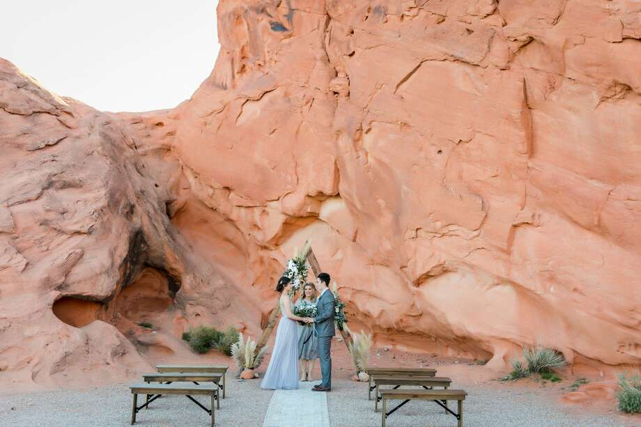 Las Vegas-based Cactus Collective Weddings provides multiple settings for couples to choose from when planning their micro wedding or elopement. Photo: Courtesy Photos / MRT