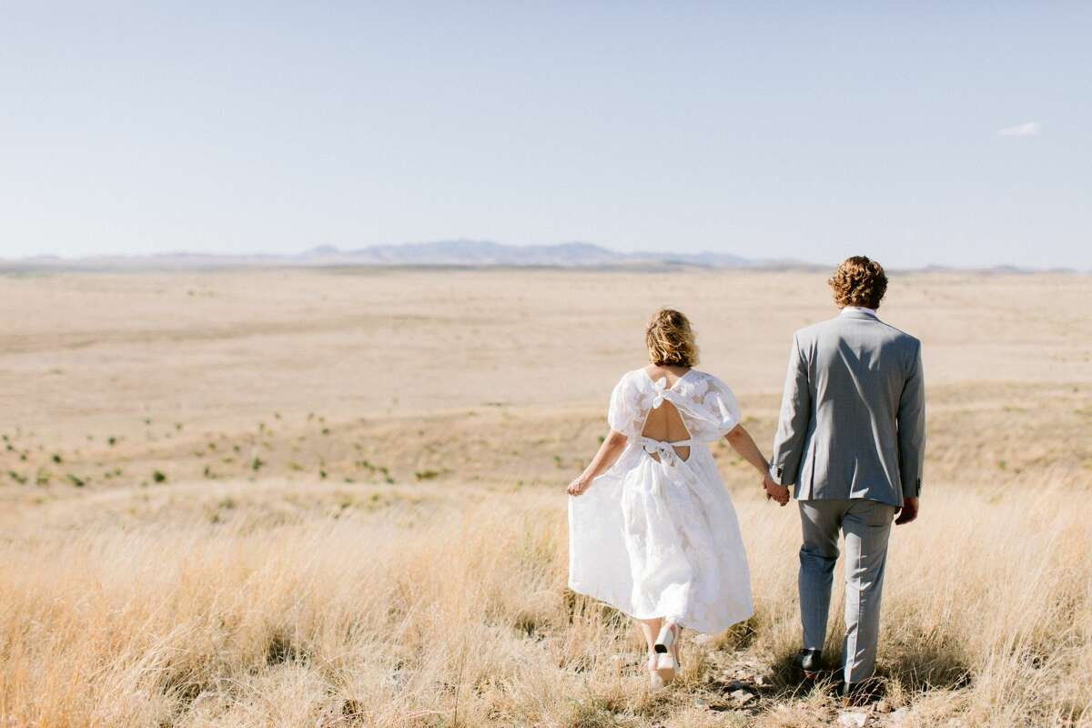 Marfa photographer Jona Christina Davis has an elopement and micro-wedding business in collaboration with other local vendors.