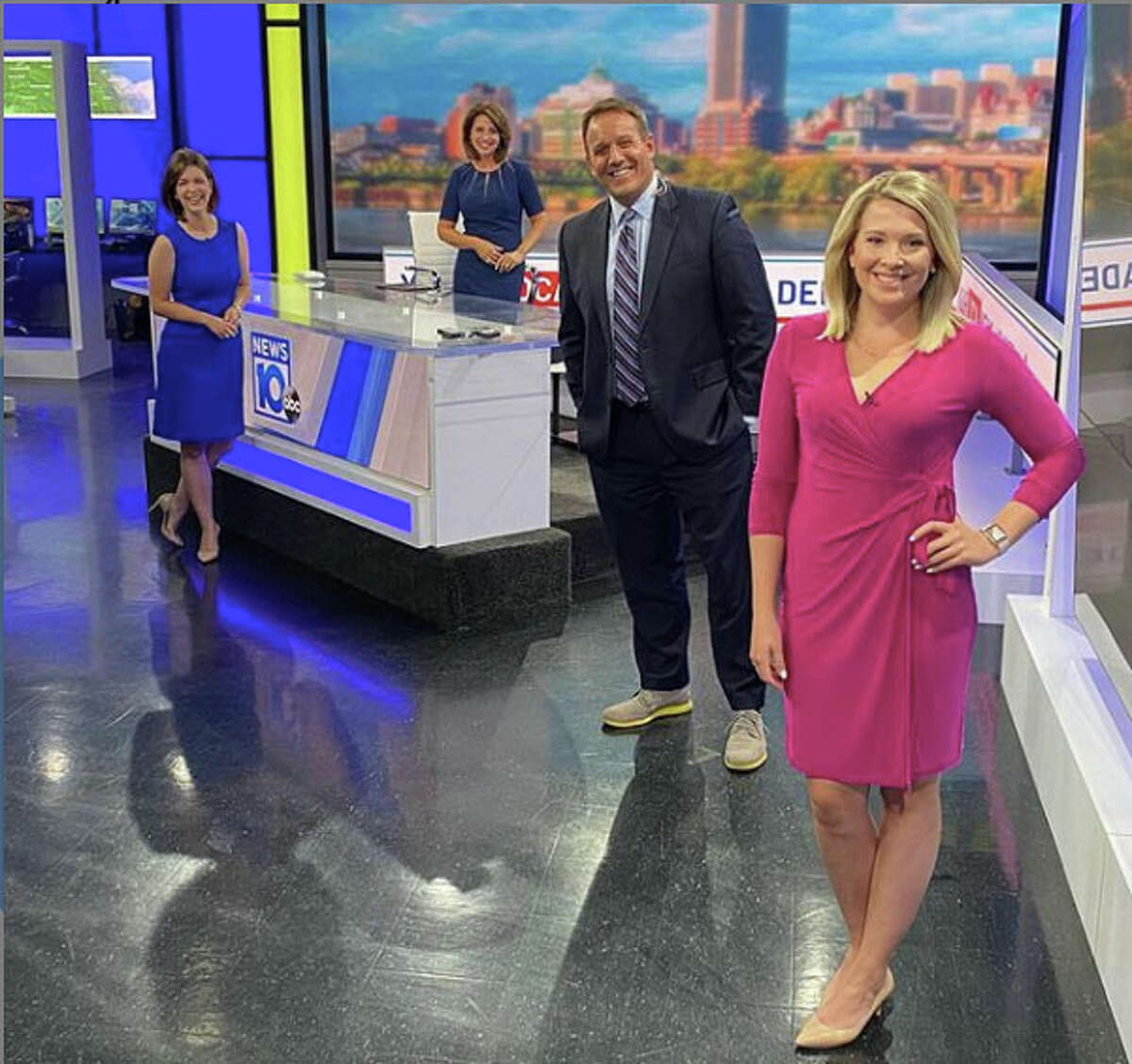 Mary Wilson has been named weekday morning anchor at NEWS10 ABC/FOX 23, filling the spot vacated by Nicol Lally. Lally left WTEN earlier this summer after more than a decade with the station.