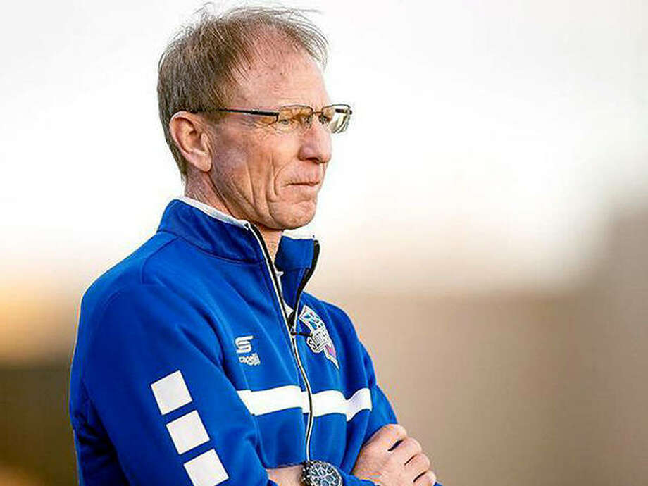 STLFC head coach, Granite City native and former SIUE All-American Steve Trittschuh, said that the decision to fold the team after the current season to make room for the new MLS St. Louis City SC in 2023, is 'bittersweet.' Photo: USL Photo
