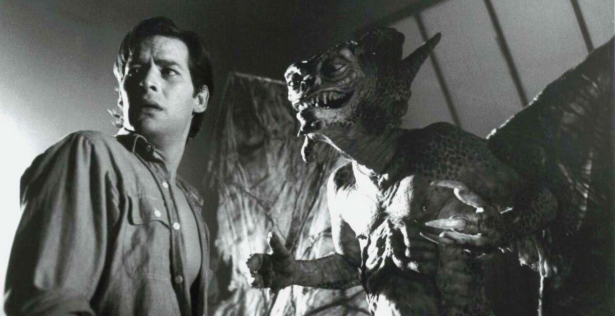 A Soho artist (James Remar) strikes a deal with a gargoyle in