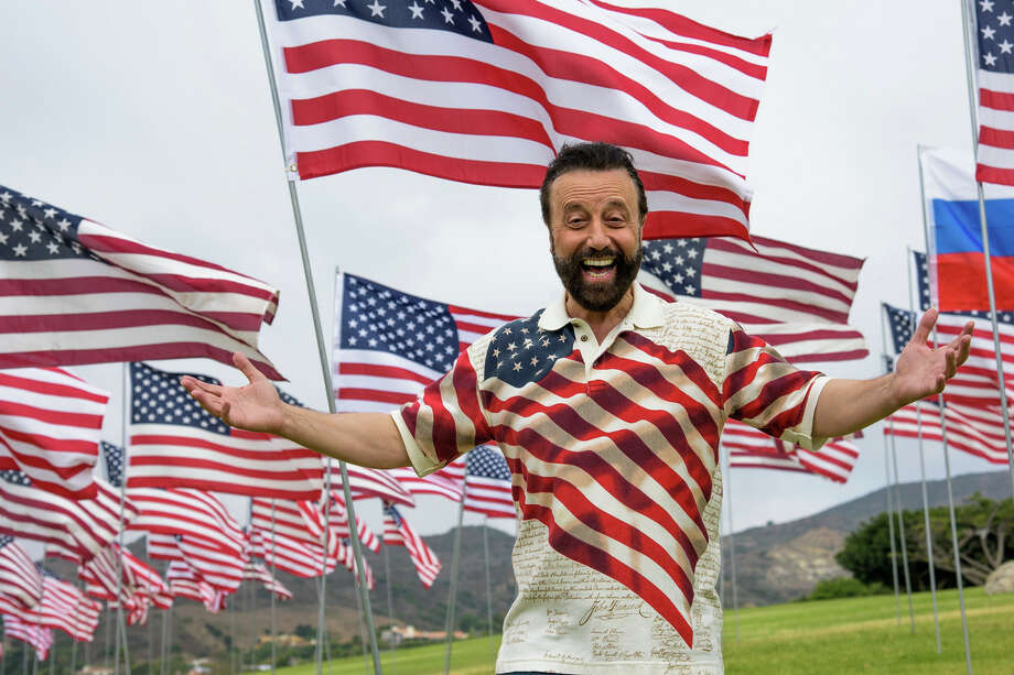 """The Wildey Theatre presents """"United We Laugh,"""" a live-stream comedy special from Yakov Smirnoff, at 8 p.m. on Aug. 29. Photo: Photos Courtesy Of Yakov Smirnoff"""