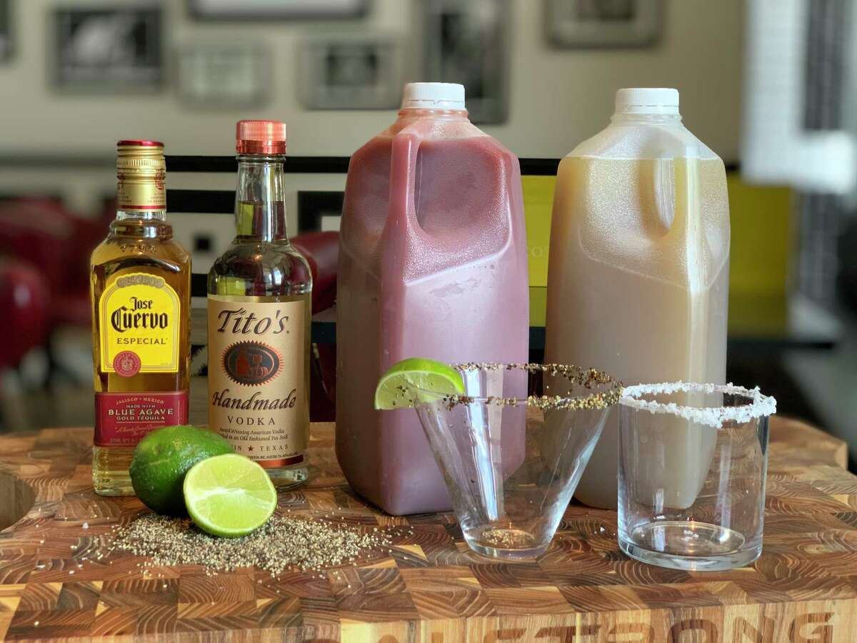 State Fare Kitchen & Bar restaurants has margarita and Bloody Mary kits which can come in handy during a hurricane.