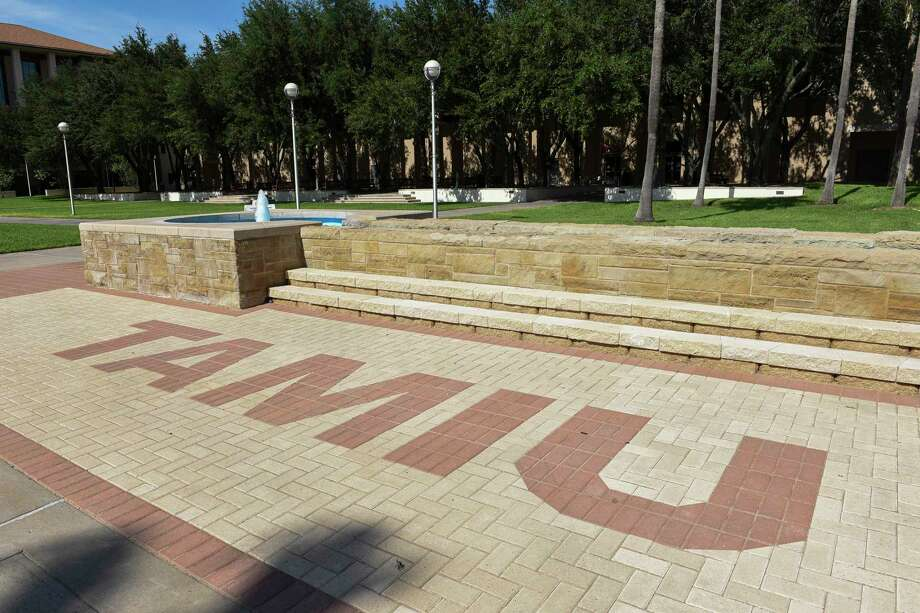 A view of TAMIU's empty campus as seen Thursday, Jun 11, 2020. Photo: Danny Zaragoza, Staff Photographer / Laredo Morning Times