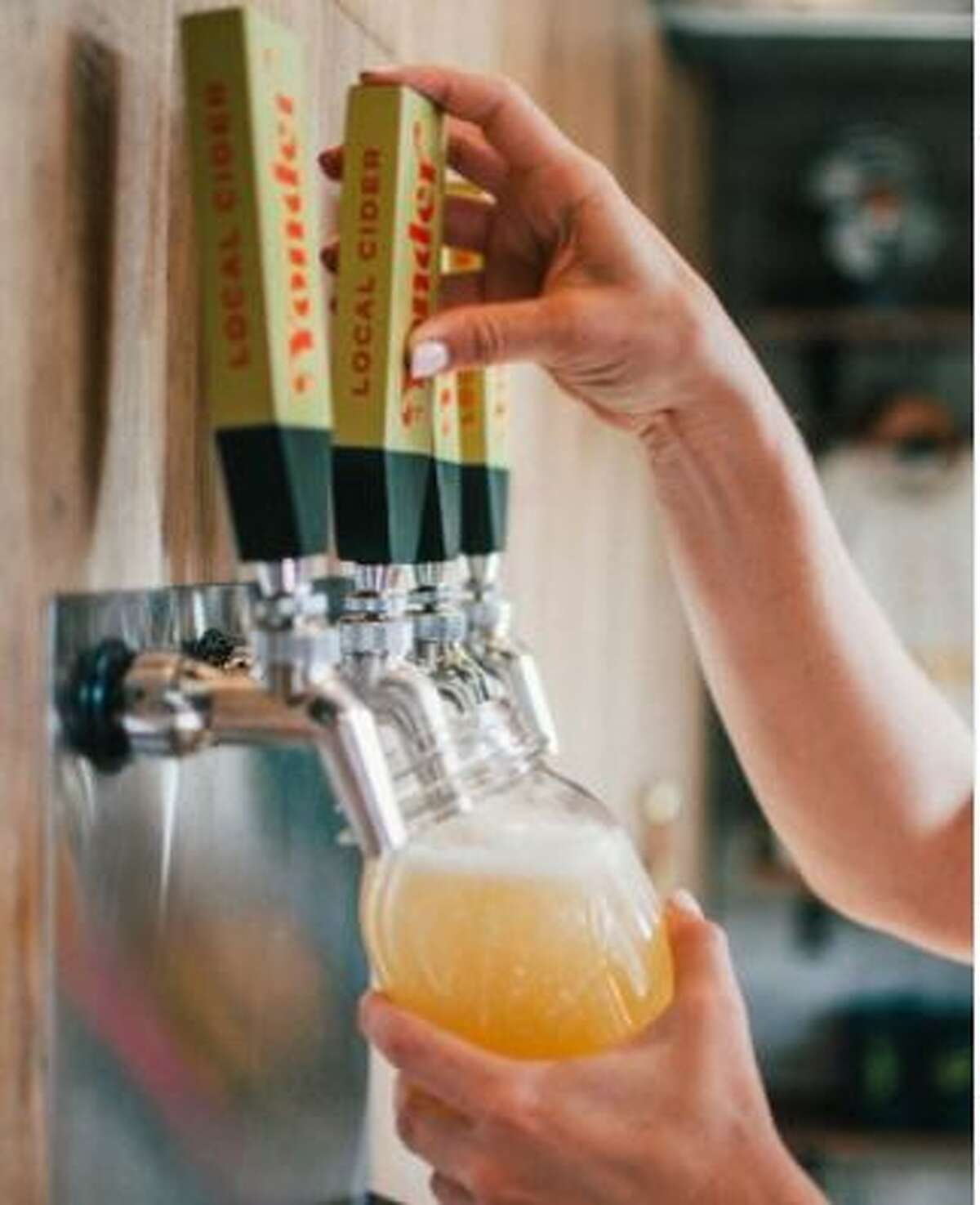 Yonder pours out new craft ciders.