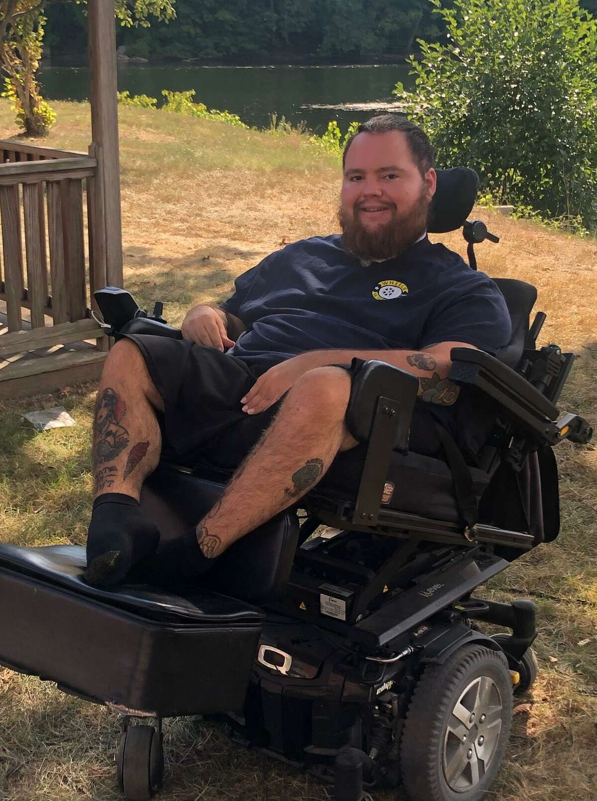 Sean Quigg of New Milford founded and is the director of the non-profit Wheels for Wheels.