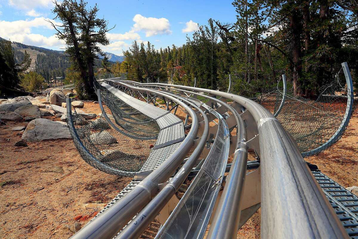The twists and turns of the Ridge Runner Mountain Coaster one of the many summer activities at the Heavenly Mountain Resort Squaw Valley Ski Resort on Friday September 15, 2017, in South Lake Tahoe, Ca.