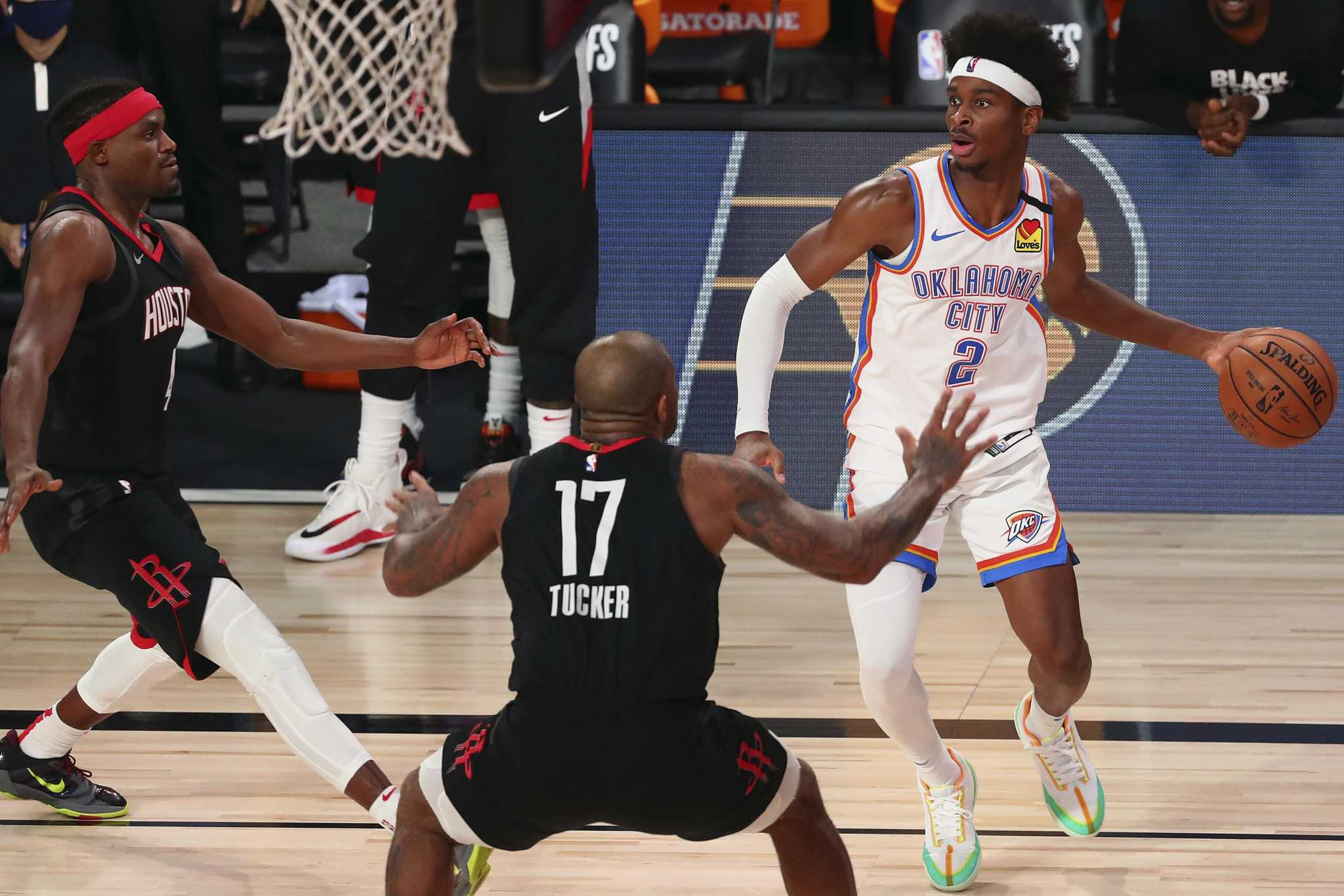 Young Thunder finding their legs in playoff run vs. Rockets - HoustonChronicle.com