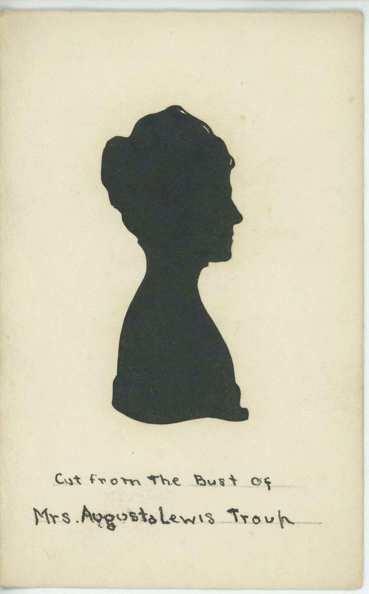 Augusta Troup silhouette