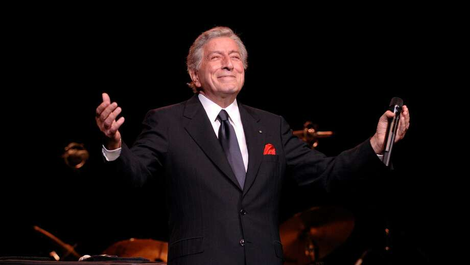 The 94-year-old singer Tony Bennett is scheduled to perform Dec. 11 at the Foxwoods Resort Casino in Mashantucket. Photo: Tony Bennett / Contributed Photo