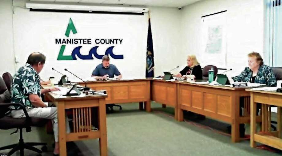 The Manistee County Board of Commissioners held their regular monthly meeting on Aug. 25. Photo: Scott Fraley/News Advocate