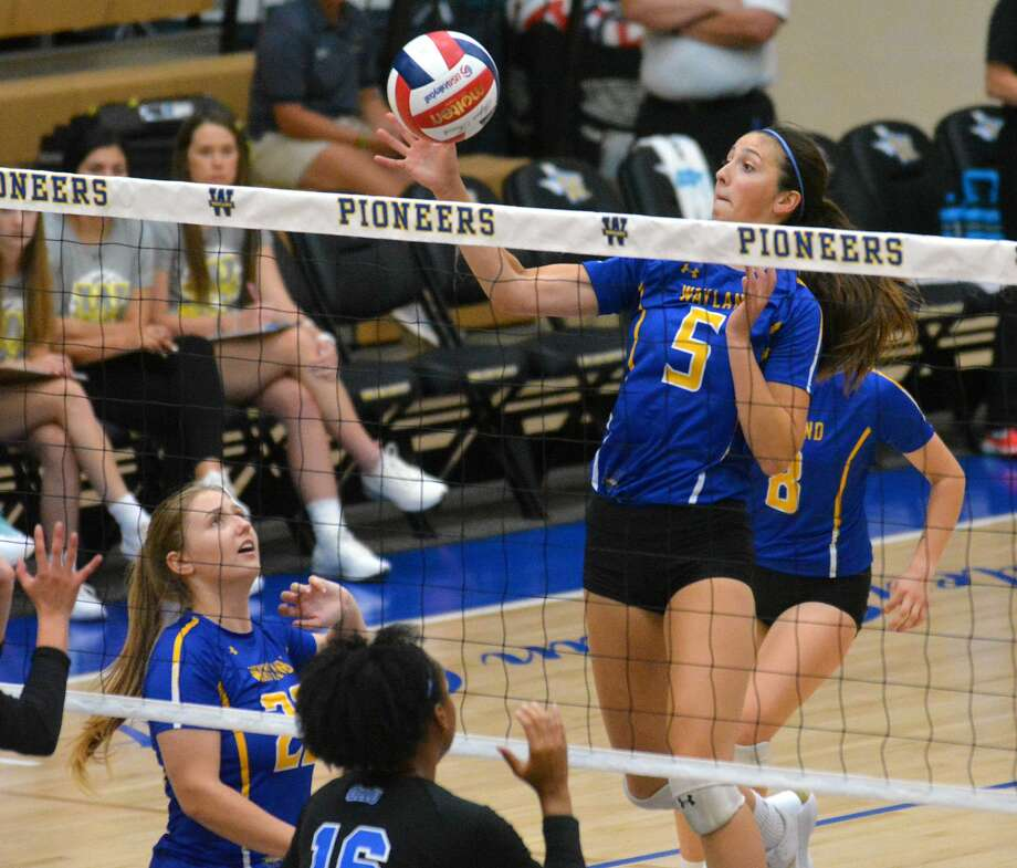 Kellie Kozak spent her summer wondering if she would be able to return to Plainview from her native Canada and finish out her career with the Wayland Baptist volleyball team. Photo: Nathan Giese/Planview Herald