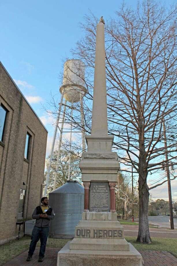Richmond's Jaybird Monument in Fort Bend County, 2019 Photo: Kristi Nix