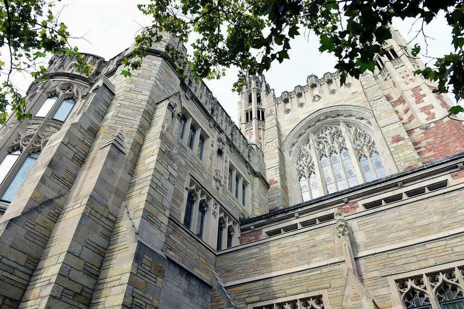 In this file photo, the Sterling Law Building houses the Yale Law School in New Haven. Photo: Arnold Gold / Hearst Connecticut Media File Photo / New Haven Register