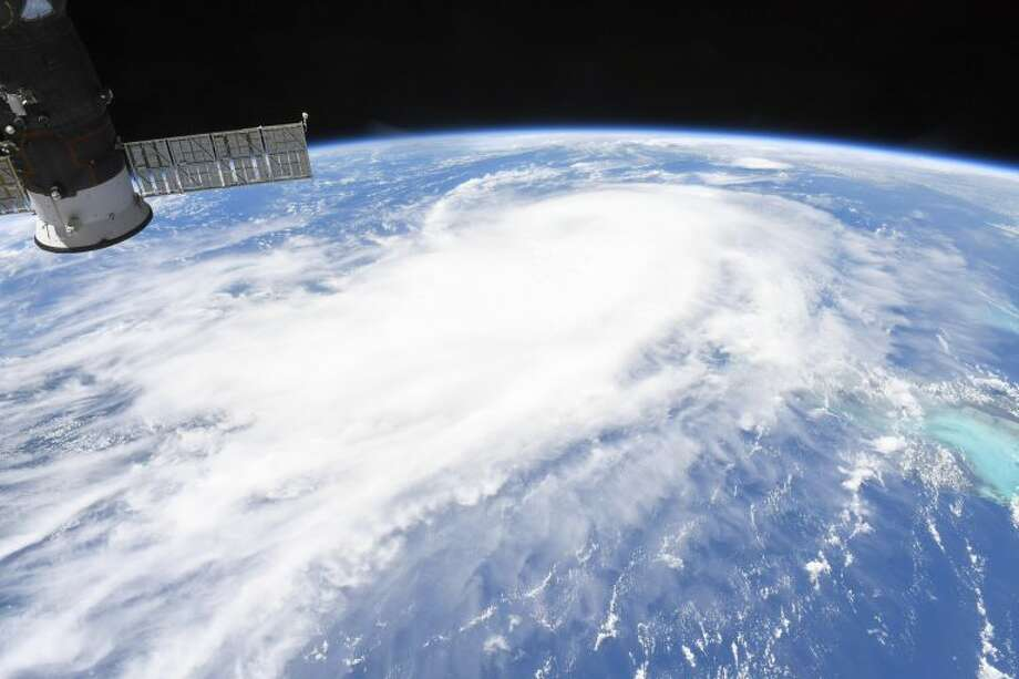 Astronaut Chris Cassidy aboard the International Space Station captured this photo of Hurricane Laura on Aug. 25, 2020 as it moved through the Gulf of Mexico and continued to strengthen. Photo: Courtesy: NASA/Chris Cassidy