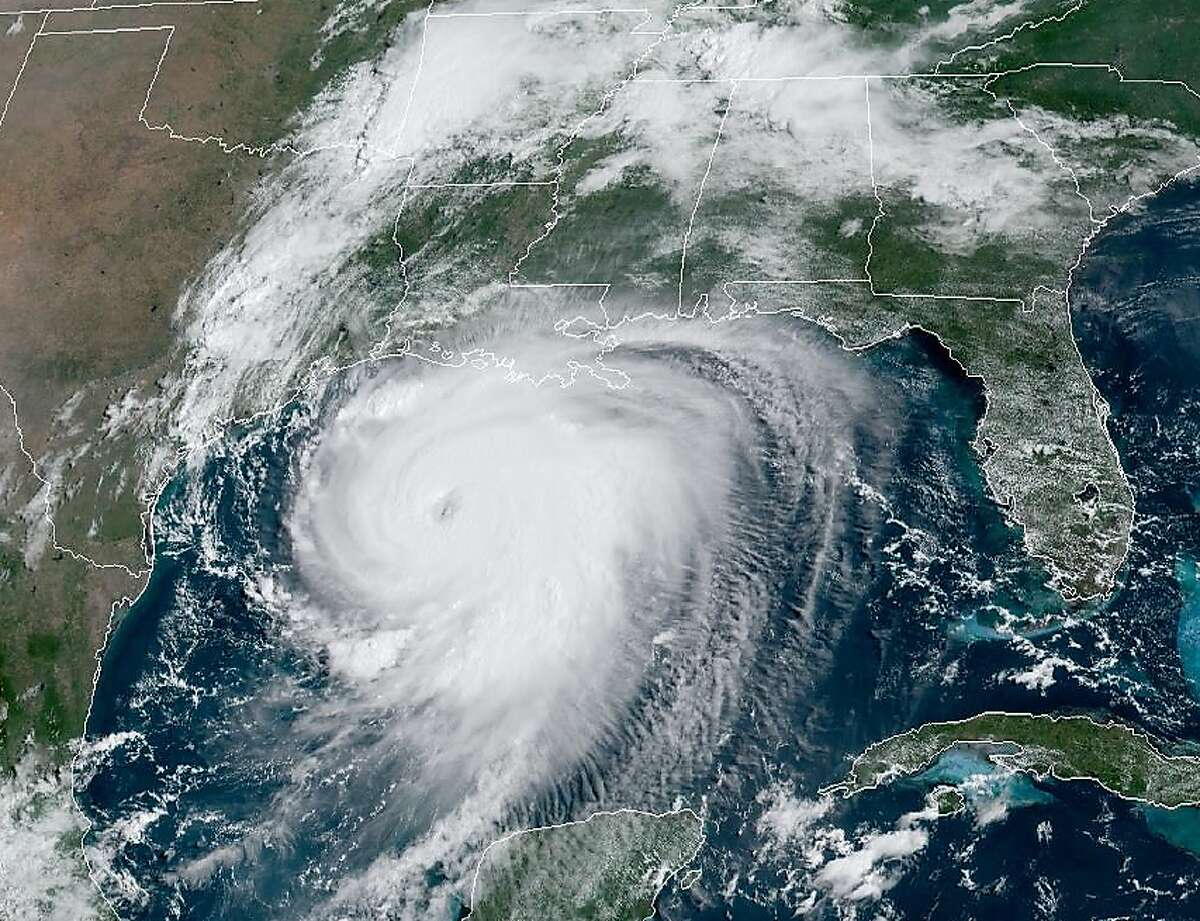 This is what 2020's Hurricane Laura looked like from space. Only two weeks into the 2021 hurricane season, Houstonians should have a hurricane kit prepared for any potential storm.