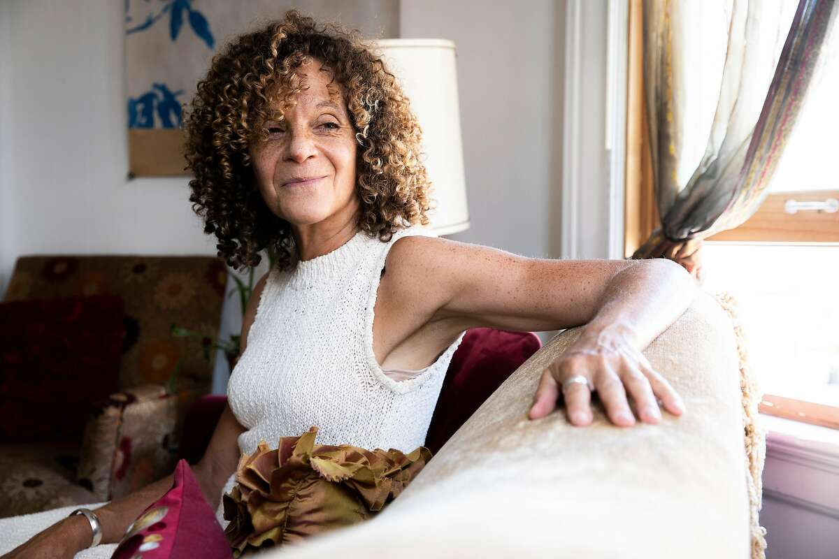 A portrait of Donna Hunter at her home on Tuesday, Aug. 25, 2020, in San Francisco, Calif.