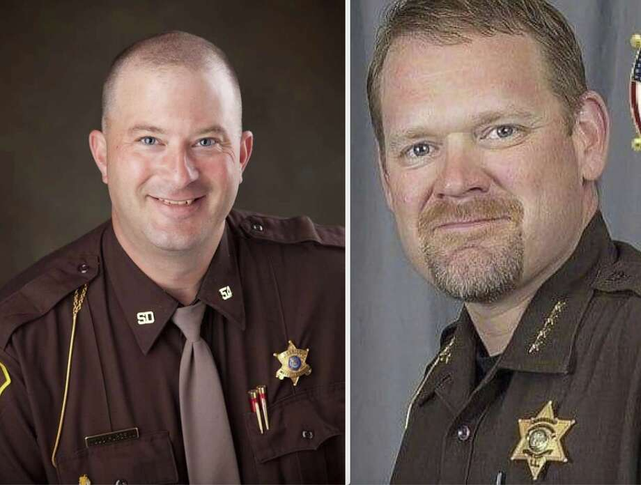 Mecosta County Sheriff Todd Purcell and Lake County Sheriff Rich Martin Photo: File Photo