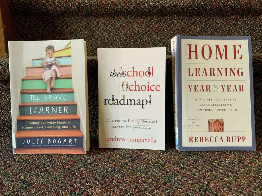 """""""The Brave Learner: Finding Everyday Magic in Homeschool, Learning and Life"""" by Julie Bogart and other titles are available at the Manistee County Library, just in time for the return to school. (Courtesy photo)"""