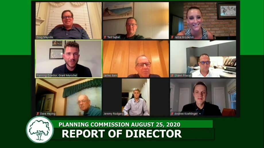 The City of Midland Planning Commission met virtually Tuesday, Aug. 25, for its regular meeting. (Screen photo/MCTV)