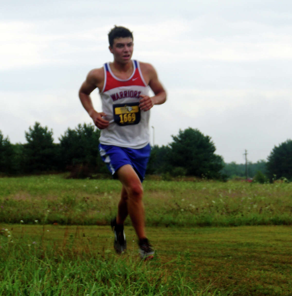 The Chippewa Hills cross-country squad hosted its first meet of the season on Wednesday, going up against St. Louis and Shepherd.