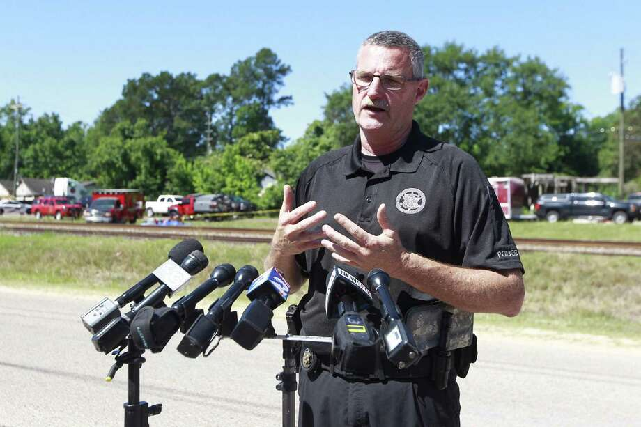 Despite approaching Hurricane Laura, Fire Marshal Jimmy Williams, seen in this file photo, told commissioners Tuesday the storm wasn't expected to bring heavy rains. However, the wind could be the concerns as residents begin any cleanup after the storm passes. Photo: Jason Fochtman, Staff Photographer / Houston Chronicle / Conroe Courier / HCN
