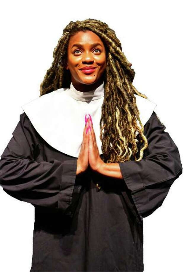 "The Players open their 2020-2021 season Sept. 4 with ""Sister Act, The Musical!"" at the Owen Theatre.Shananda Poulos stars at Deloris Van Cartier. Photo: Photo Courtesy The Players Theatre Company"