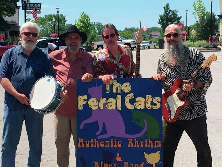 The Feral Cats Deluxe will perform at 7 p.m. on Tuesday at the Rotary Gazebo on First Street Beach as the conclusion of this season's Manistee Shoreline Showcase. (Courtesy photo)