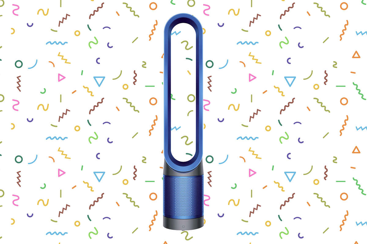 The Dyson TP02 Pure Cool Link Tower is marked down to $349.99 right now at Best Buy.