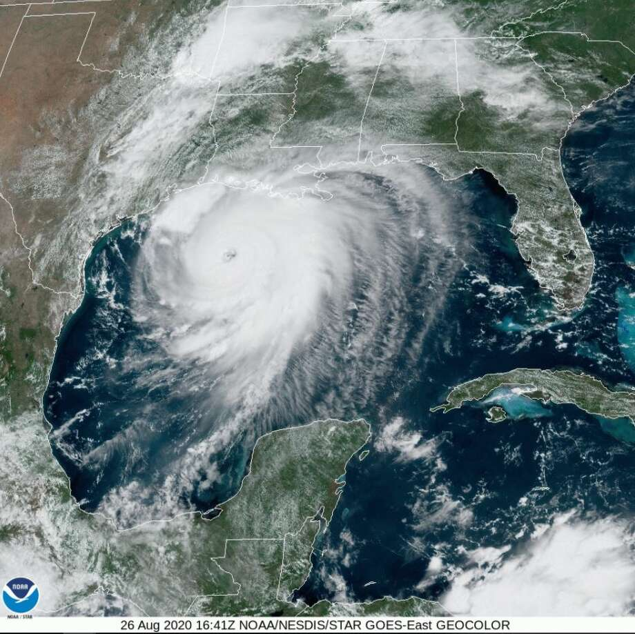 As the threat of Hurricane Laura intensifies, storm chasers like Emmy-winning Jeff Piotrowski are naturally in their element, warning coastal residents to please evacuate as this formidable Category 4 storm nears. What's particularly threatening about Laura is the storm surge, especially for the Gulf Coast communities including Port Arthur, Vinton, Cameron Parish and Lake Charles which are directly in the storm's path. Photo: NWS