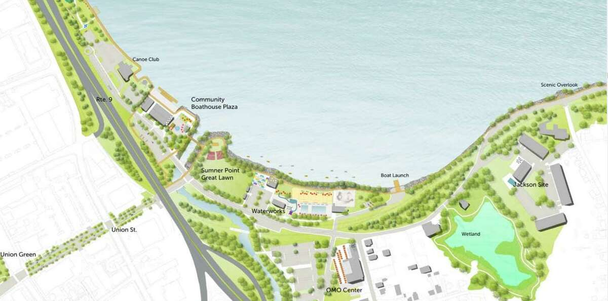 A vision for the Harbor Park riverfront in Middletown was prepared by the Project For Public Spaces.