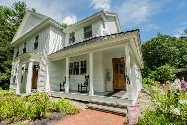 A 10-year-old Greek Revival style home at 75 Parkhurst Road in Wilton is House of the Week. It has four bedrooms and three bathrooms. Contact listing agent Chris Benton of Roohan Realty for more information at 518-495-8555. https://realestate.timesunion.com/listings/75-Parkhurst-Rd-Wilton-NY-12831-MLS-202025309/43523167