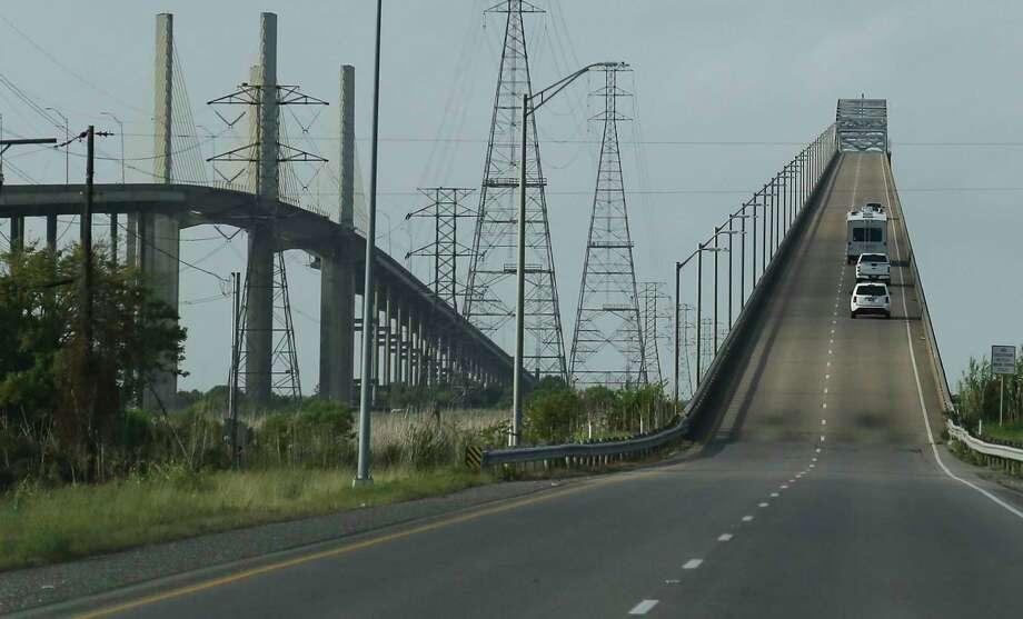 Bridge in Orange on Wednesday, Aug. 26, 2020. Photo: Elizabeth Conley, Houston Chronicle / Staff Photographer / © 2020 Houston Chronicle