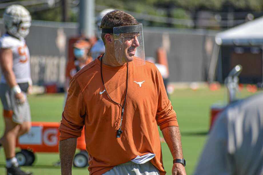 After three and a half years as Rutgers' head coach, Chris Ash is hoping to rebuild his reputation as Texas' new defensive coordinator. Photo: Courtesy Texas Athletics