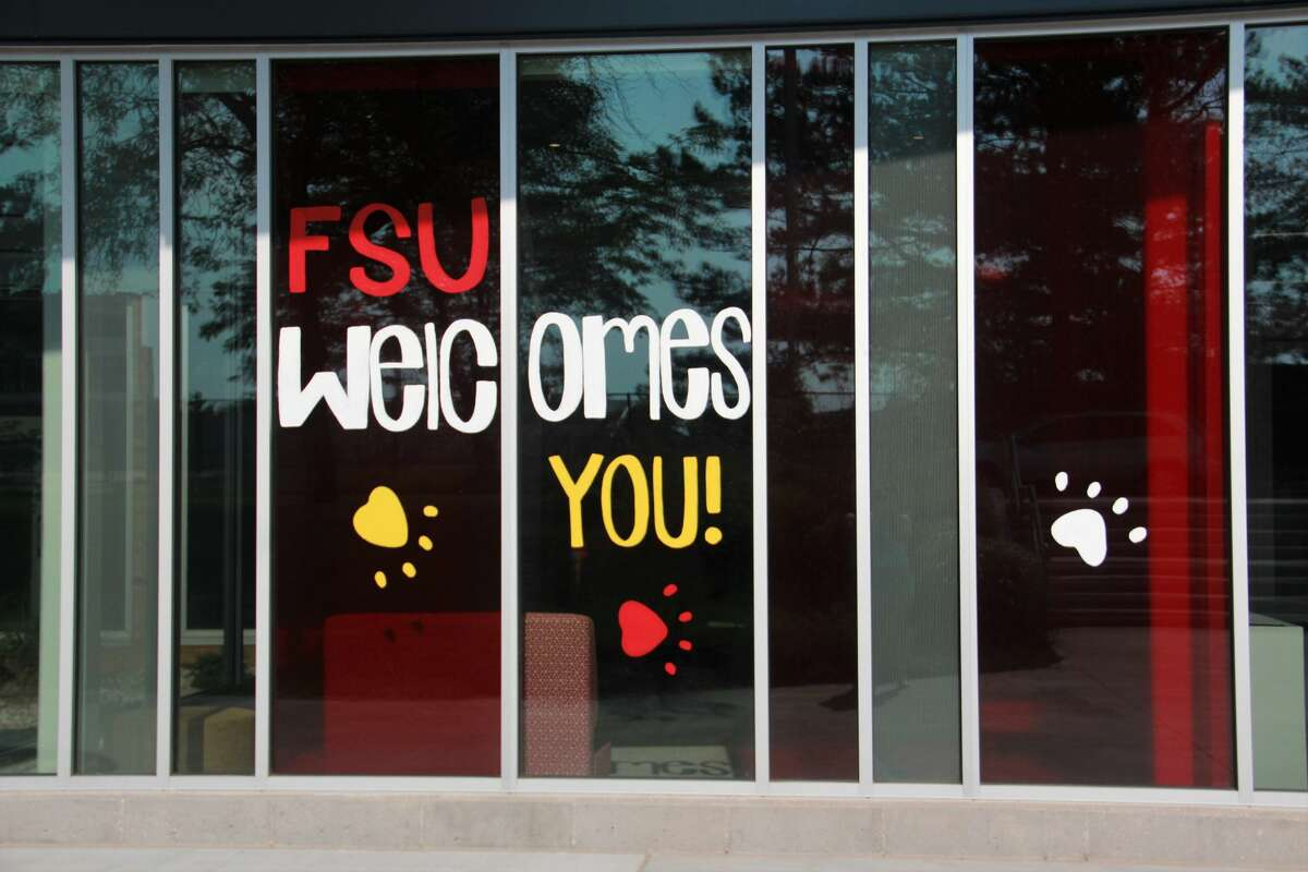Students, staff, faculty, and visitors at Ferris State will have to wear a mask in any indoor setting when returning to campus for the 2021-22 school year. The university's administration reinstated their mask policy amid case surges and concerns surrounding the COVID-19 Delta variant. (Pioneer file photo)
