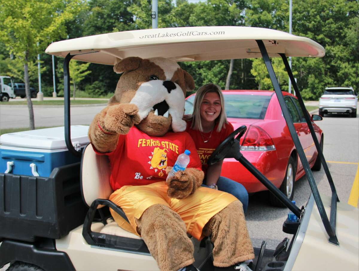 BIG RAPIDS - Move-in day looked a little different this year as Ferris State University students returned to campus Wednesday. Wearing masks, students were asked to visit the Ewigleben Sports Complex to take a COVID-19 screening before moving in to their residence halls. Though dorms were open, dining halls were limited to the number of people allowed, and signs of social distancing were reminding students to stay safe during their time on campus. Classes for students begin Aug. 31, and are being instructed in-person and online as a result from the coronavirus.