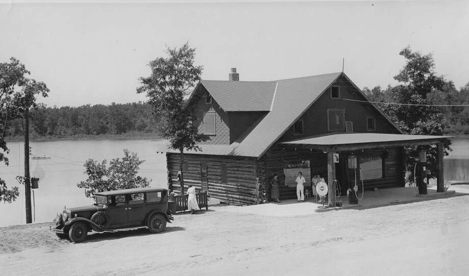 In the early years, Government Lake Lodge offered food, gas and groceries to vacationers that visited the park.(Courtesy photo/Lake County Historical Society)