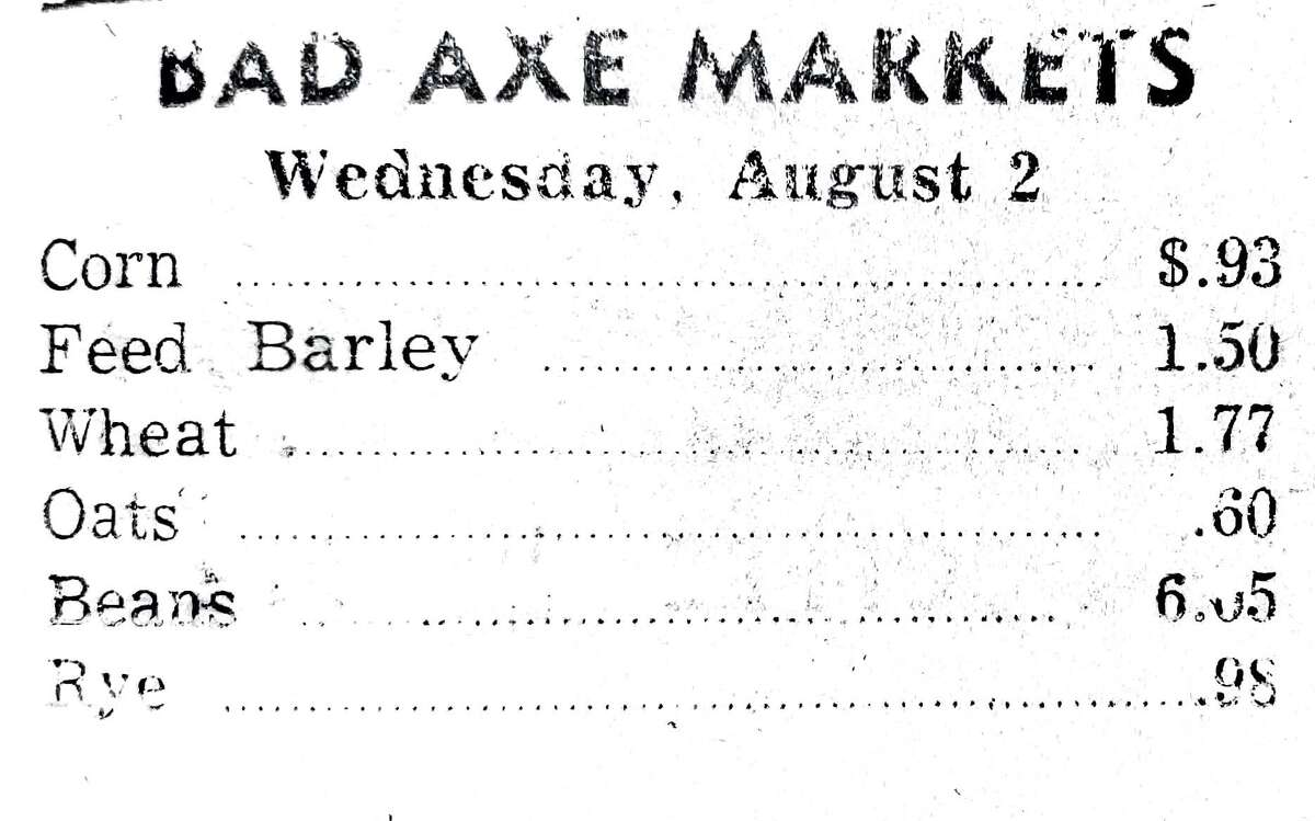 For this week's Tribune Throwback we take a look in the archives from August 1961.