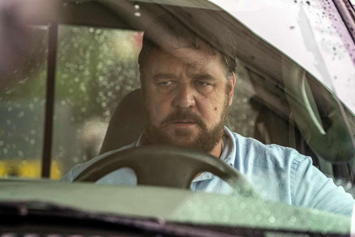 This image released by Solstice Studios and Ingenious Media shows Russell Crowe in a scene from